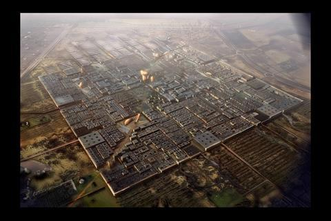 Walled city of Masdar